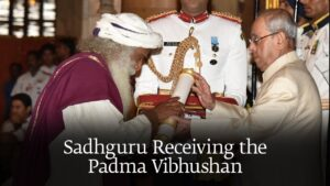 On 25 January 2017, Sadhguru honored him with the Padma Vibhushan Award the Government of India for his contribution towards spirituality. He has an active social media presence as well.