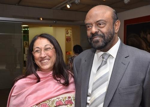 shiv nadar wife Kiran Nadar