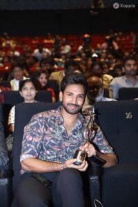 Aadhi Pinisetty's Award