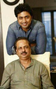 Actor Dev's Father :-Guru Adhikari (Caterer)