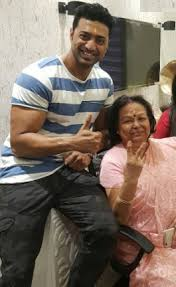 Actor Dev's mother