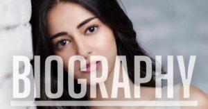 Ananya Pandey's Biography