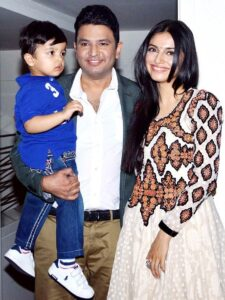 Bhushan Kumar's Family