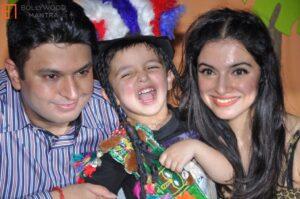 Bhushan Kumar's Son and Wife