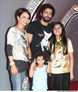 Farhan Akhtar's Family: