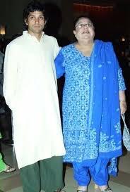 Farhan Akhtar's mother