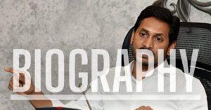 Jagan Mohan Reddy Biography
