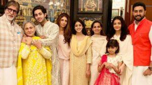 Jaya Bachchan's Family