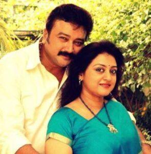 Jayaram's Wife :- Parvathy Jayaram (m. 1992)