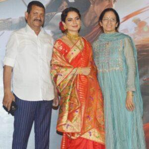 Kangana Ranaut's Parents