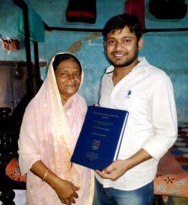 Kanhaiya Kumar's mother