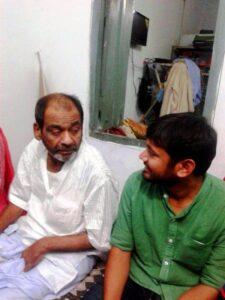 Kanhaiya Kumar's father