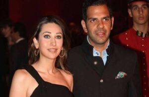 Karisma Kapoor with husband