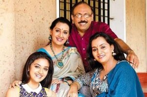 Keerthy Suresh's Family