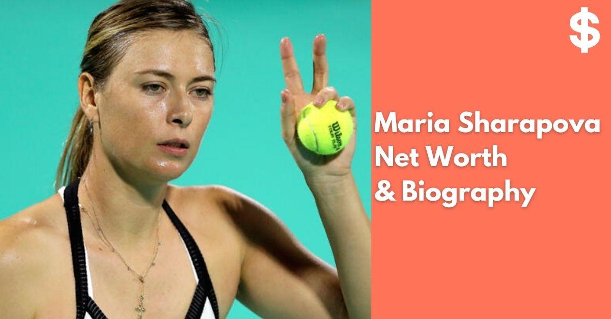 Maria Sharapova Net Worth   Income, Salary, Property   Biography