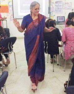 Mayanti Langer's mother