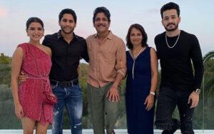 Naga Chaitanya's family