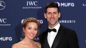 Novak Djokovic's Wife