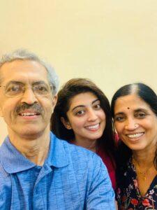 Pranitha Subhash's Parents
