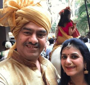 Radhika Merchant parents