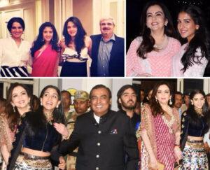 Radhika Merchant Family:
