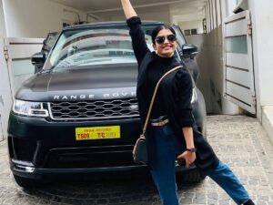Rashmika Mandanna's Car Collection: