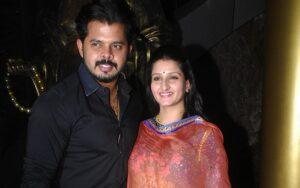 S. Sreesanth's Wife :- Bhuvneshwari Kumari (m. 2013)
