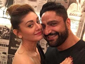 Shefali Zariwala with husband