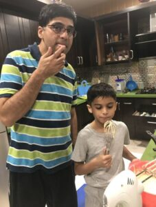Viswanathan Anand's Son (s) :-Akhil Anand