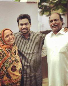 Zakir Khan's parents