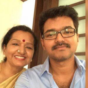 Actor Vijay's Mother
