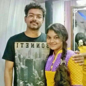 Actor Vijay's Sister
