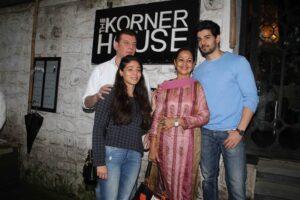 Aditya Pancholi's family