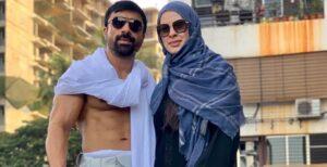 Ajaz Khan's Wife