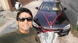 Chandan Prabhakar's car collection