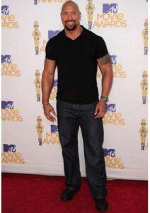 Dwayne Johnson's Height