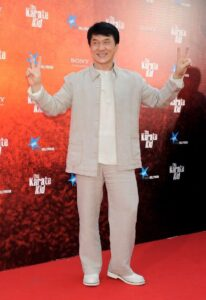 Jackie Chan's Height