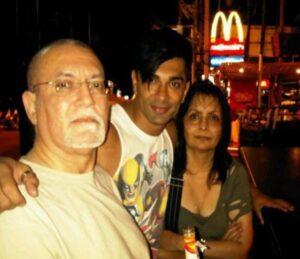 Karan Singh Grover's FAmily