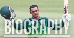 Quinton de Kock Biography