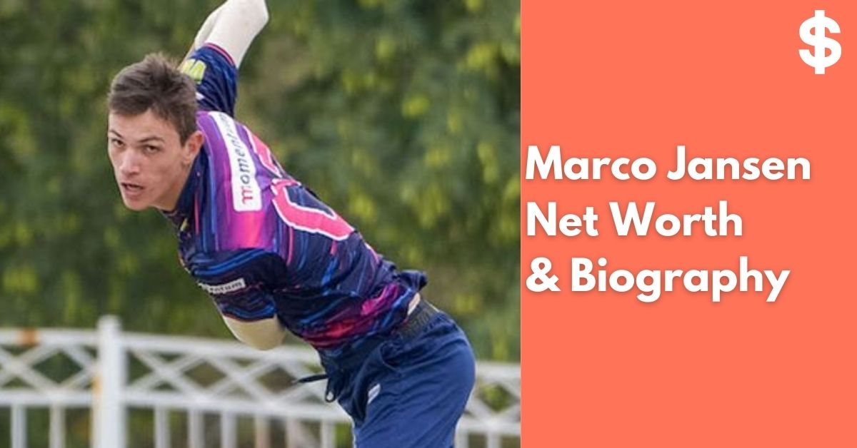 Marco Jansen Net Worth   Income, Salary, Property   Biography