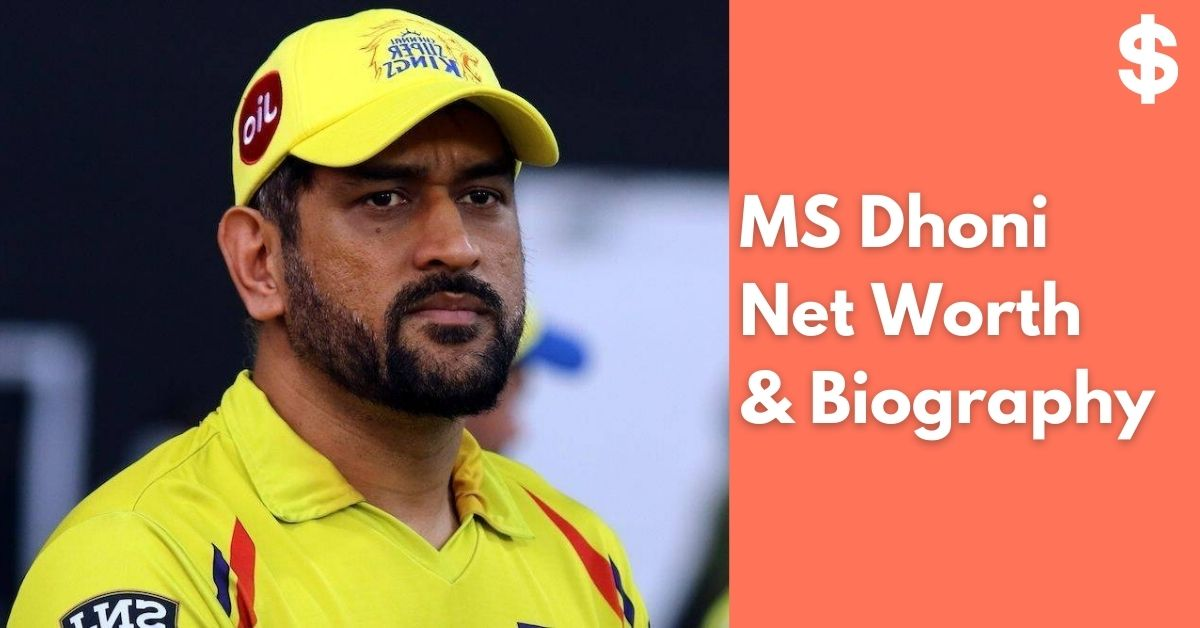 MS Dhoni Net Worth   Income, Salary, Property   Biography