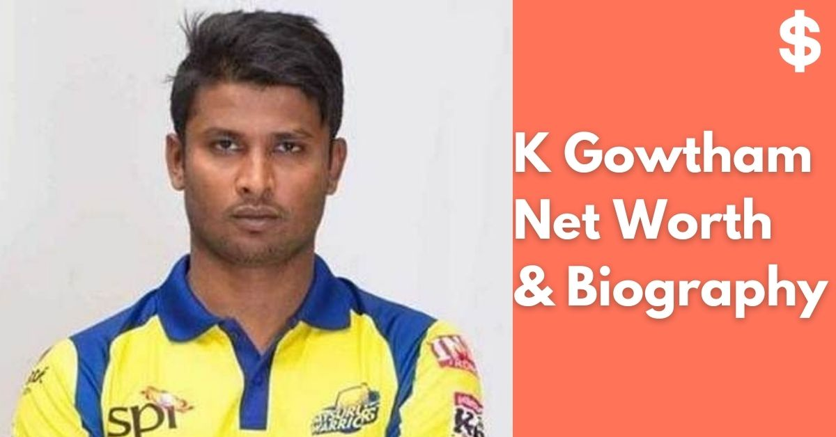K Gowtham Net Worth | Income, Salary, Property | Biography