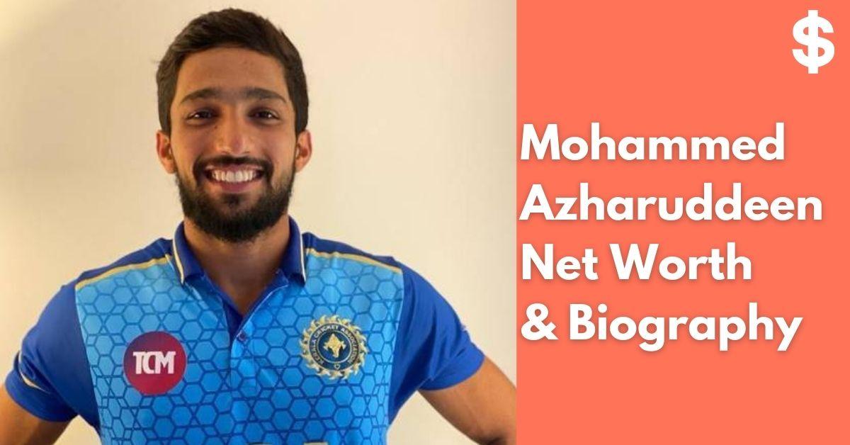 Mohammed Azharuddeen Net Worth | Income, Salary, Property | Biography