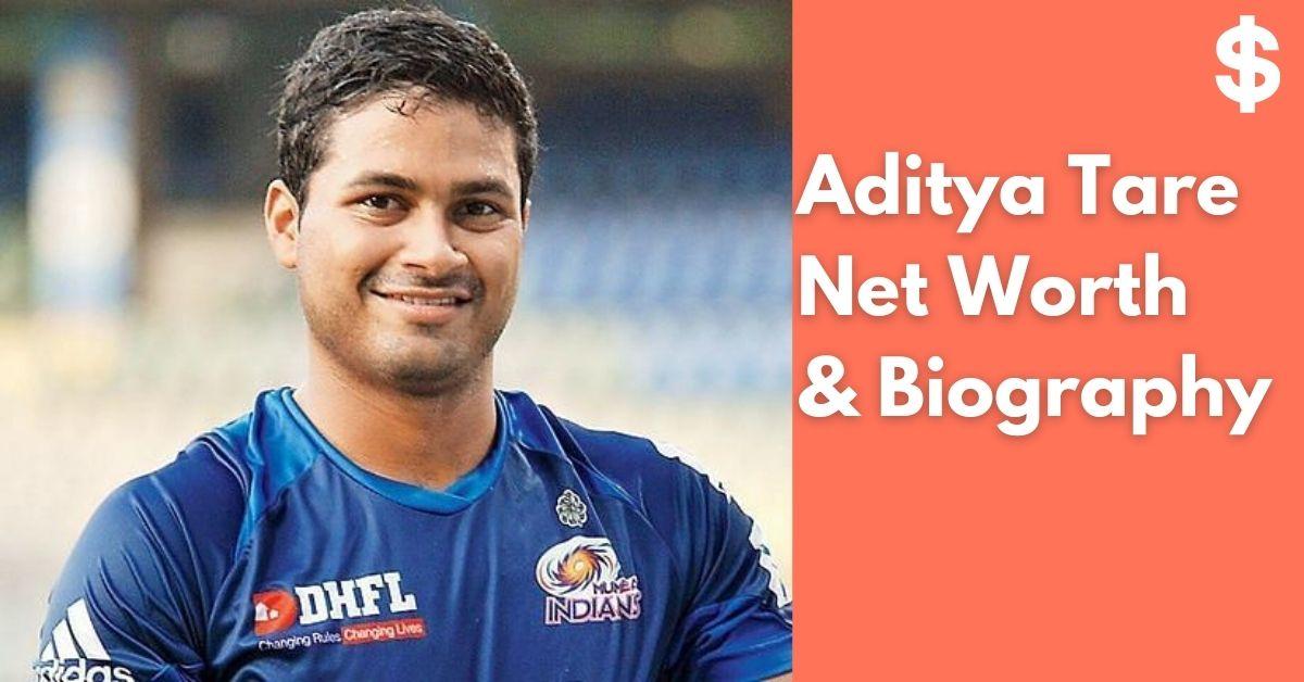 Aditya Tare Net Worth   Income, Salary, Property   Biography