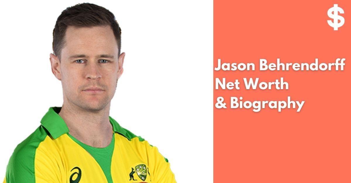 Jason Behrendorff Net Worth | Income, Salary, Property | Biography