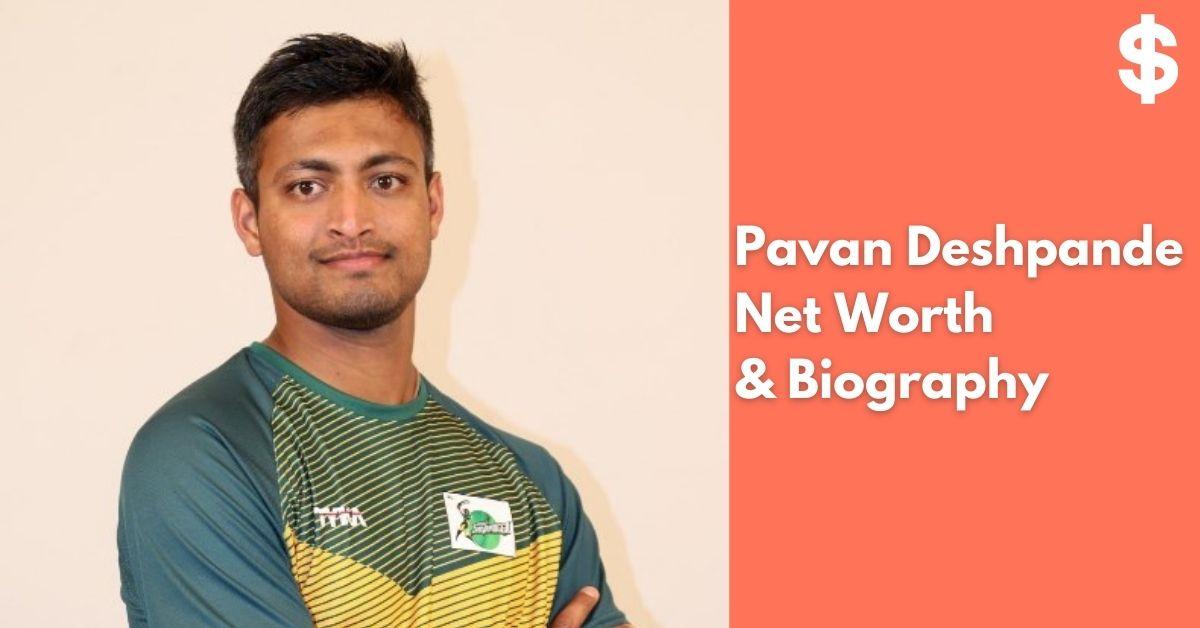 Pavan Deshpande Net Worth   Income, Salary, Property   Biography