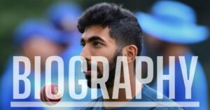 Jasprit Bumrah Biography