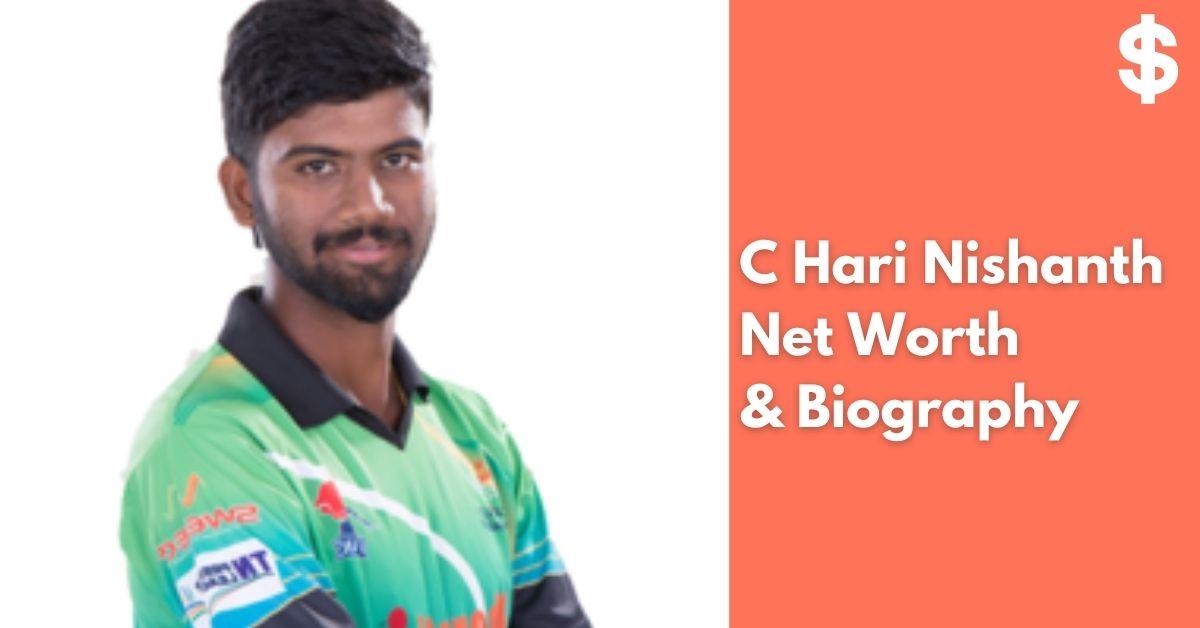 C Hari Nishanth Net Worth | Income, Salary, Property | Biography