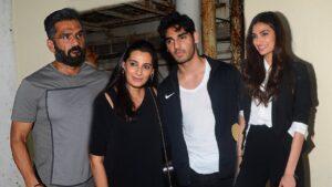 Sunil Shetty's Family
