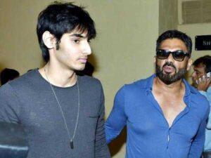 Sunil Shetty's Son